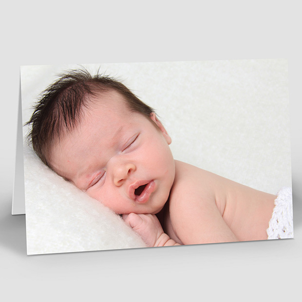 Only Me – Boy, baby thank you card for boys by Cedar Tree